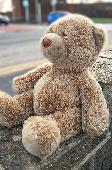 Found Teddy bear on 16 Feb. 2018 @ Brackley Street, Farnworth BL4 9EA