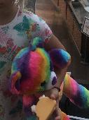 Lost Teddy bear on 06 Aug. 2018 @ Hannover near Ibis budget Rundestraße hauptbahnhof