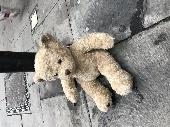 Found Teddy bear on 14 Oct. 2018 @ Great Russell street, London