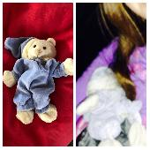 Lost Teddy bear on 29 Oct. 2018 @ Edinburgh (Glasgow/Euston) Caledonian sleeper train