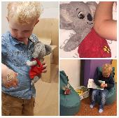 Lost Teddy bear on 29 Sep. 2018 @ Stenaline hoek van Holland