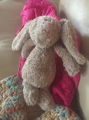Lost Jellycat bunny on 25 Mar. 2019 @ 1300 East Union Park Ave, Sandy, Utah