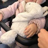 Lost Jellycat bunny on 22 Apr. 2019 @ Brighton UK