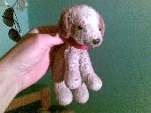 Lost Teddy doggy on 09 Jul. 2009 @ At a train in Simrishamn, Sweden