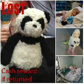 Lost Teddy bear on 01 Jun. 2019 @ Virginia Water, Surrey (UK)