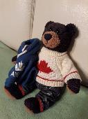 Lost Teddy bear on 03 Oct. 2019 @ Františkových Lázní Ceské republice