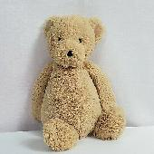 Lost Teddy bear on 03 Dec. 2019 @ Alberni Street, Vancouver, BC, Canada