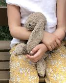 Lost Jellycat bunny on 16 Jan. 2020 @ Edgware rd