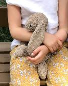 Lost Jellycat bunny on 29 Apr. 2020 @ edgware rd train