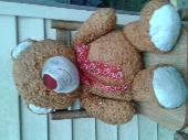 Found Teddy bear on 10 Jul. 2020 @ West bristol road, southampton, pa.