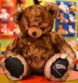 Lost Teddy bear on 06 Dec. 2020 @ Waitomo