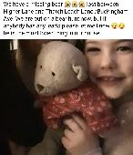 Lost Teddy bear on 10 Feb. 2021 @ Higher Lane, whitefield