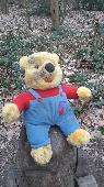 Found Teddy bear on 19 Mar. 2021 @ WF2 6QQ Newmillderam, lakeside path