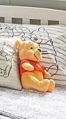 Lost Teddy bear on 13 Jun. 2021 @ A41, Hertfordshire, England