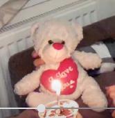 Lost Teddy bear on 28 Aug. 2021 @ Hotel Elsinore, Llandudno