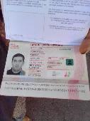 Found Documents on 17 Oct. 2021 @ Tijuana Mexico, intentional Border